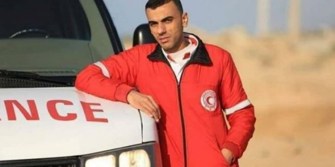 Palestinian paramedic dies of wounds sustained in anti-occupation protest