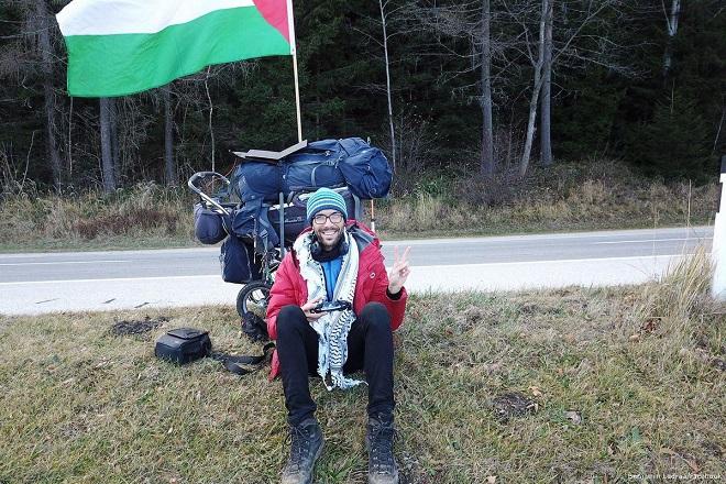 #WalkToPalestine activist Ladraa heads to Serbia