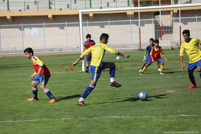 Rights group: FIFA ignoring Israel's ban on Palestinian football