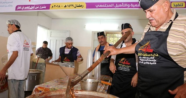 Sanabel Al-Awda provides food to the poor in Gaza