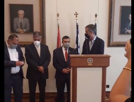 Bethlehem, Athens renew twinning agreement between the two cities