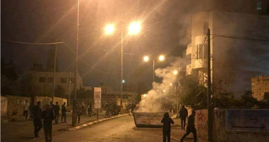Dozens injured in clashes with Israeli police in Kafr Aqab