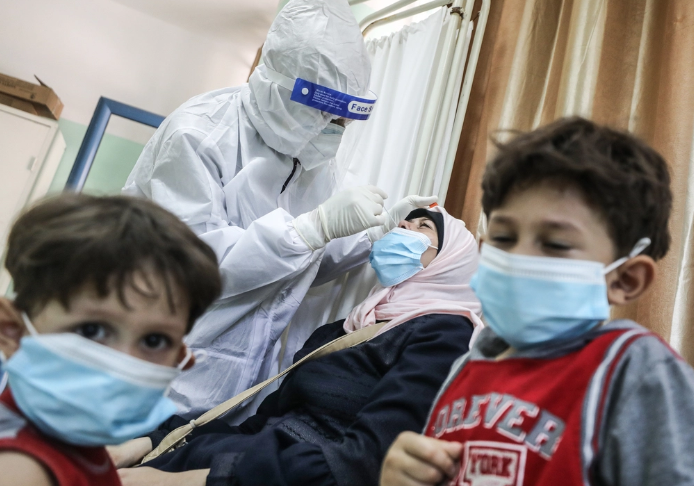 WHO warns of collapse of health system in Gaza due to coronavirus