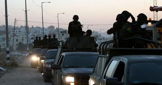 PA forces arrest 3 Palestinians over political grounds