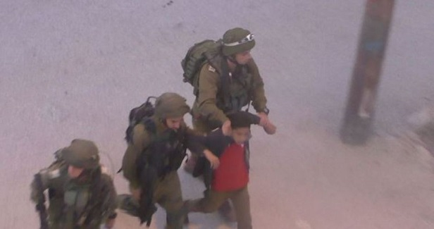 Palestinian child arrested while leaving his school