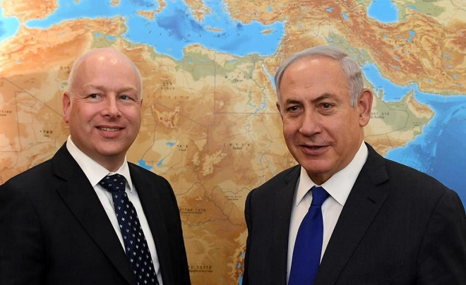 Greenblatt: Peace plan 'meaningless' without political agreement