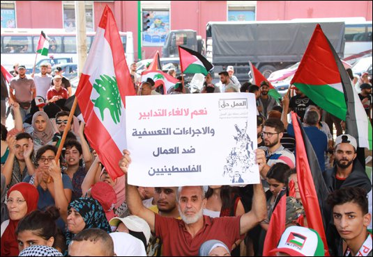 Strategic Assessment (115): The Measures of the Lebanese Ministry of Labor and the Palestinian Protest Movement
