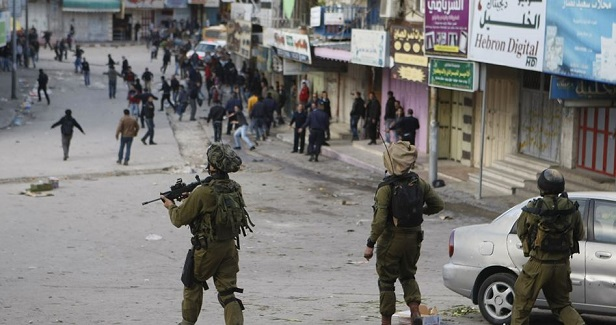 Violent clashes with Israeli soldiers south of Jenin