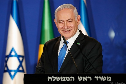 Netanyahu condenses Israel's history into one sentence