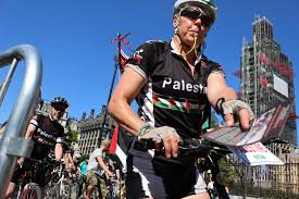 Hundreds set to cycle through London and Manchester in support of Palestinian rights