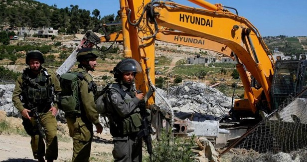 Israeli army razes agricultural structures in Bethlehem