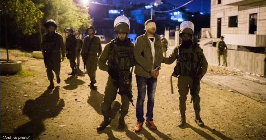 IOF kidnaps several Palestinians in W. Bank