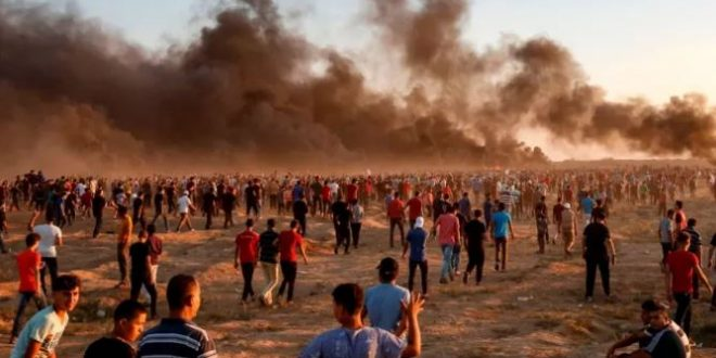 Palestinian killed, 41 others injured by IOF at Gaza border