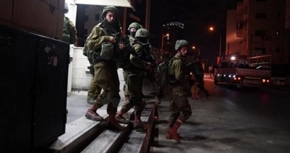 IOF kidnaps several Palestinians overnight in J'lem and W. Bank