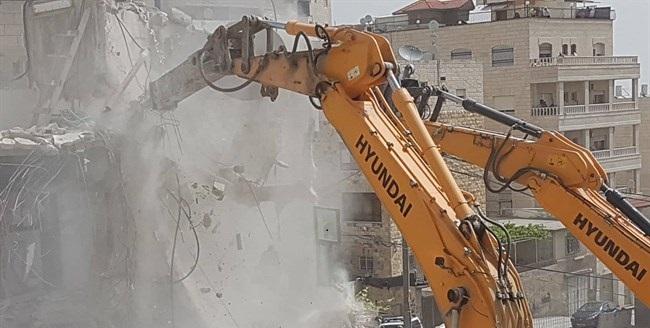 Israel demolishes Palestinian-owned garage in East Jerusalem