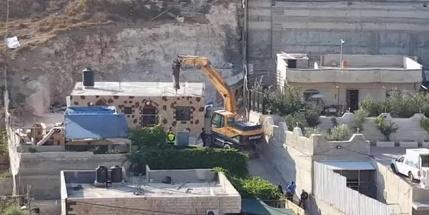 IOF demolish two homes in East Jerusalem