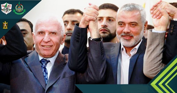 Hamas and Fatah sign reconciliation agreement in Cairo