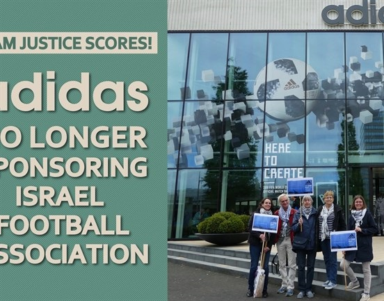 BDS: 'Adidas no longer sponsors Israel Football Association'