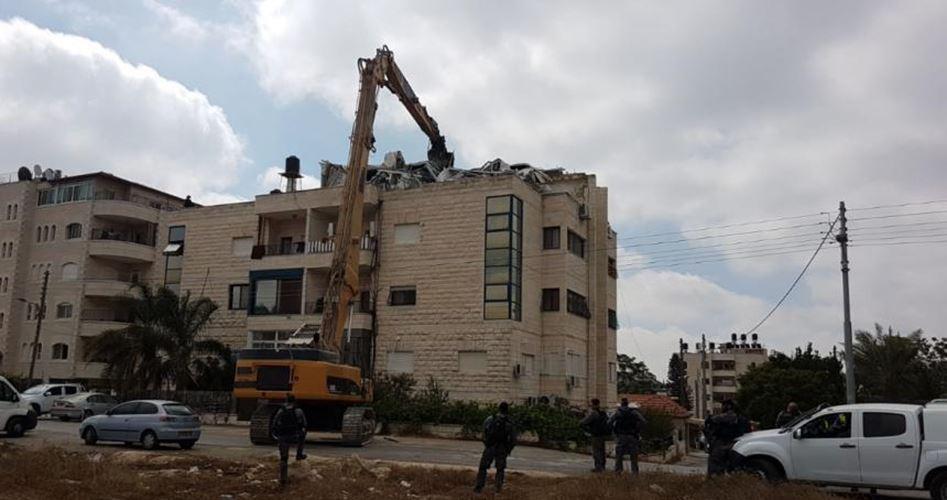 Israeli army to raze four homes, industrial facility in al-Khalil