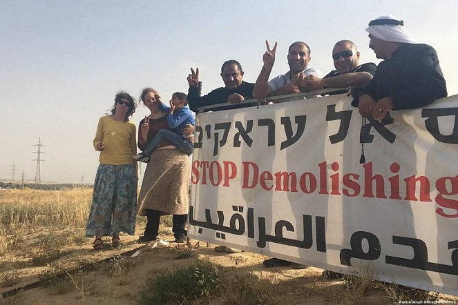 'We will rebuild', Palestinians say as Israel demolishes village for 143rd time