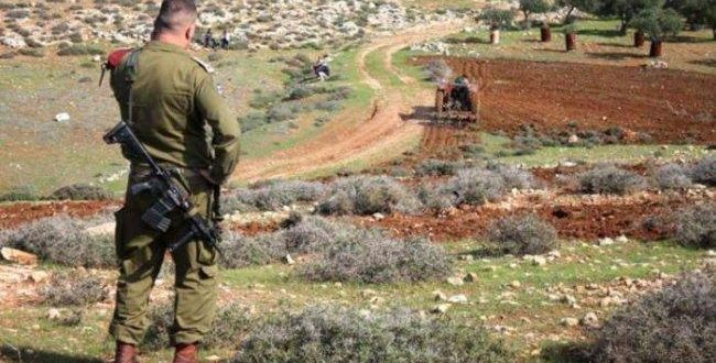 Salfit: Israel to confiscate 8 dunums of land for military purposes