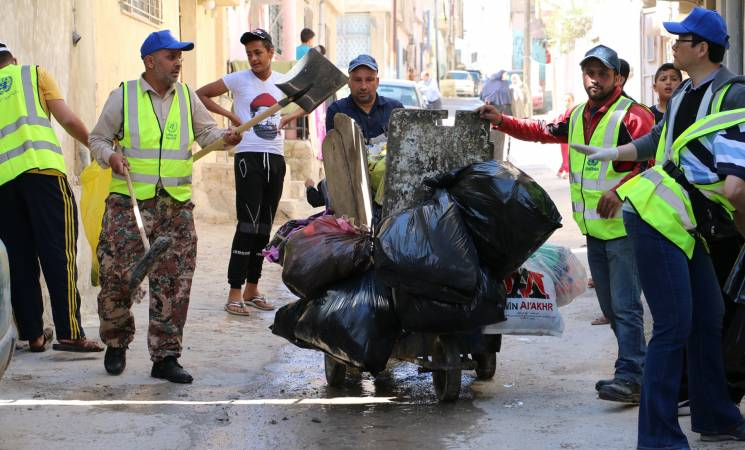 Local Environmental Action Makes A World of Difference: Working Together to Welcome Ramadan in Baqa'a Camp