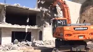 IOF demolish four Palestinian homes in the Occupied Territories