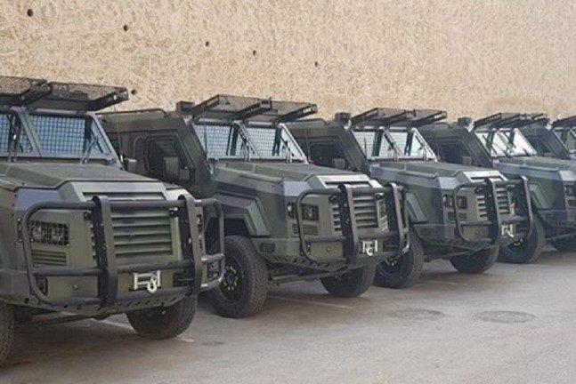 PA receives second batch of armoured vehicles from Jordan