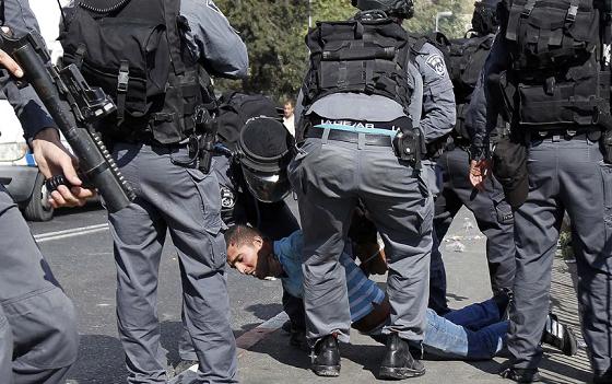 Israel arrests mother, 12-year-old son in Jerusalem
