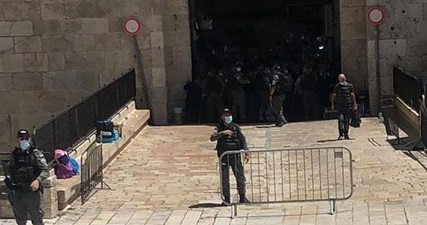 Israeli police close Bab al-Amud area in J'lem Old City