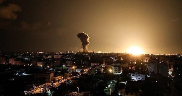Israeli aerial attacks target two sites in Gaza