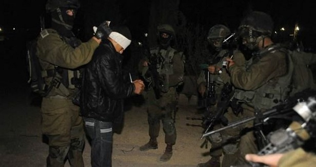 IOF arrests 4 Palestinians in West Bank campaigns