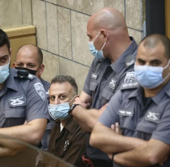 Recaptured Palestinian escapee: 'I will seek freedom again'
