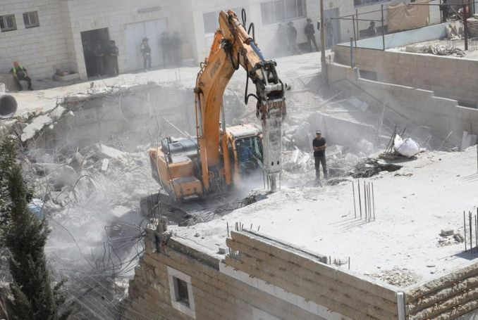 550 Palestinians to Be Homeless Due to Israel's Demolition Order