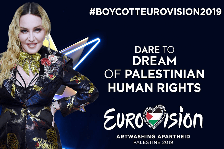 'Madonna Don't Go': a spoof video to urge the singer to boycott Eurovision