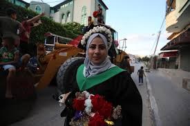 Palestinian graduate digs deep to celebrate her success