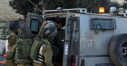IOF kidnaps several Palestinians in overnight W. Bank campaigns