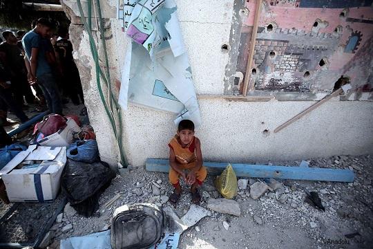 Israel army raids Palestinian school in West Bank
