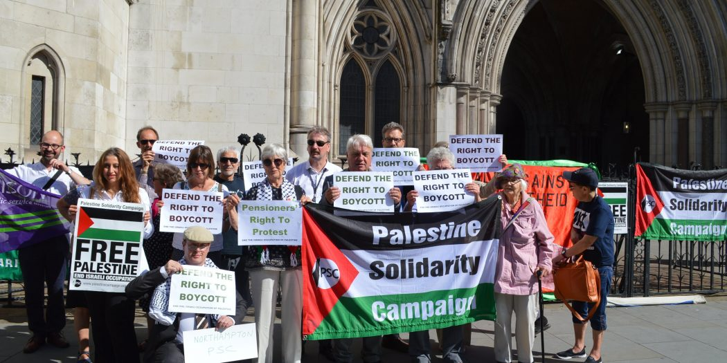 Palestine Solidarity Campaign Wins Right to Go to Supreme Court