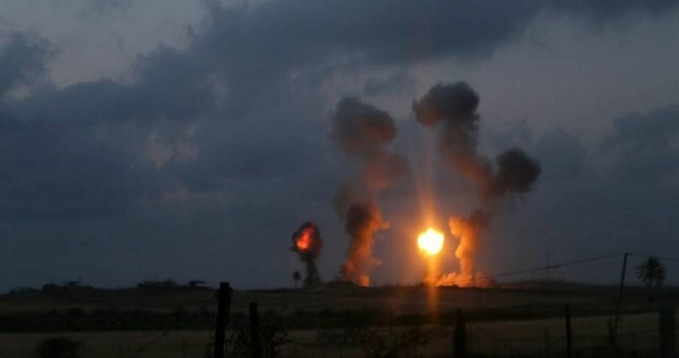 Israel launches spate of aerial attacks on Gaza