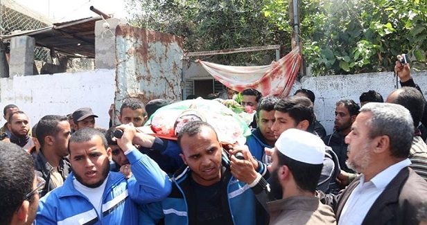 Cleaner killed by Israel army at Gaza protests while posing no threat.
