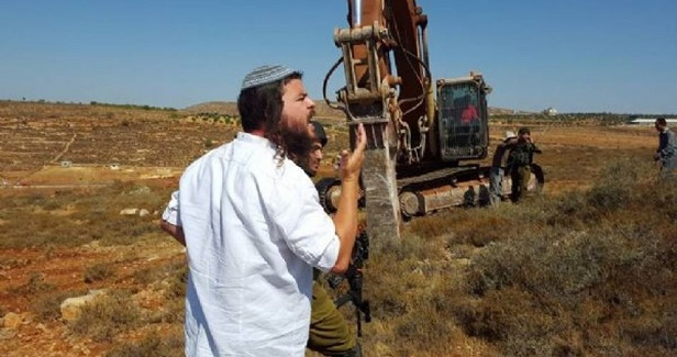 Israeli forces wreak havoc on Palestinian cultivated lands in Nablus