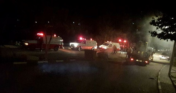 Many Palestinians injured in overnight IOF attack on Azzun town