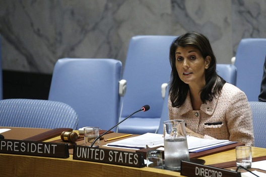 Nikki Haley: 'Israel should not be worried about deal of the century'