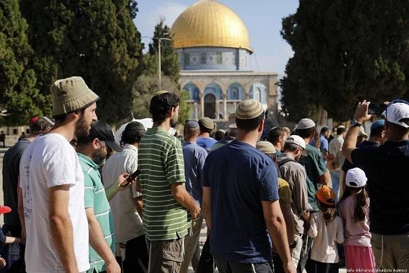 448 settlers stormed Al-Aqsa Mosque last week