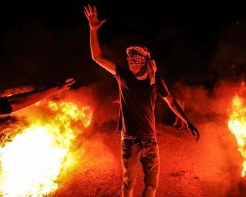 'Night Confusion' unit organize protests in eastern Gaza