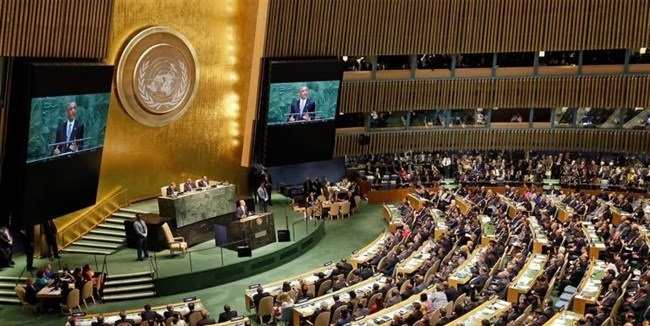 Palestine's UN ambassador hails UNGA vote as 'political victory'