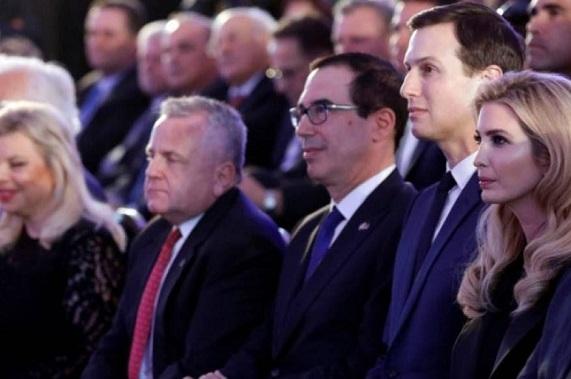 54 ambassadors boycott Israeli American Embassy celebration