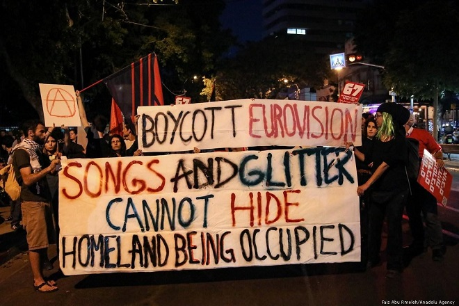 The BDS campaign against Eurovision was a major success