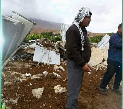 Israel demolishes Palestinian house in O. J'lem